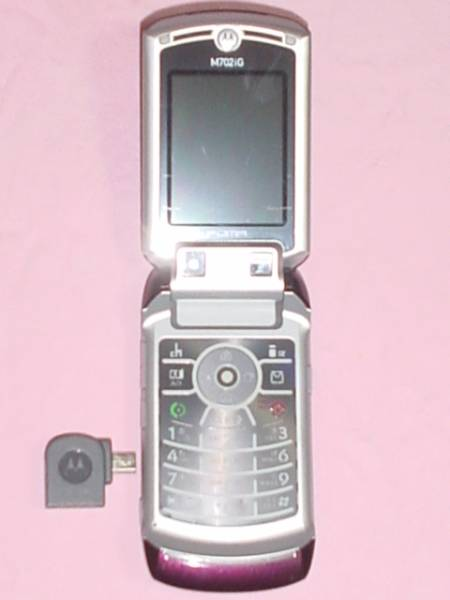 ◆美品【SIMフリー】国際派携帯電話機 M702iG 3G+GSM 155ヶ国OK SIMロック解除済!!!_画像1
