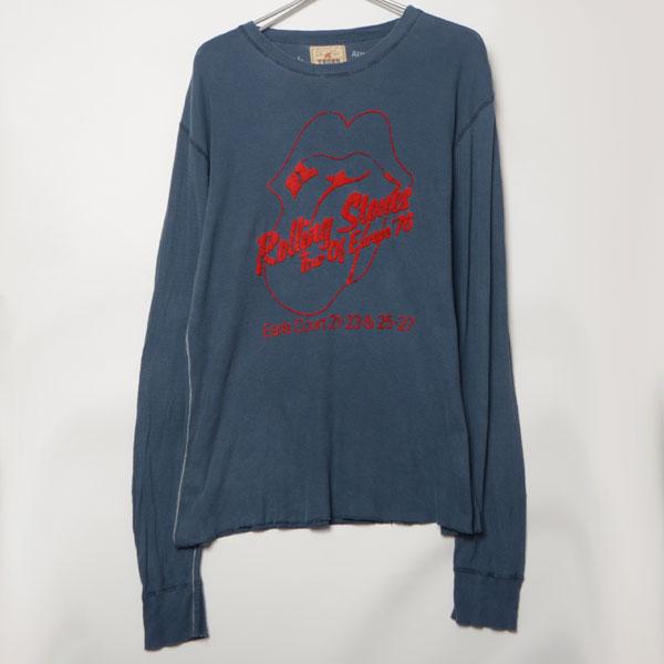 GS7033 ローリングストーンズ ロンTシャツ M 肩51 メール xq