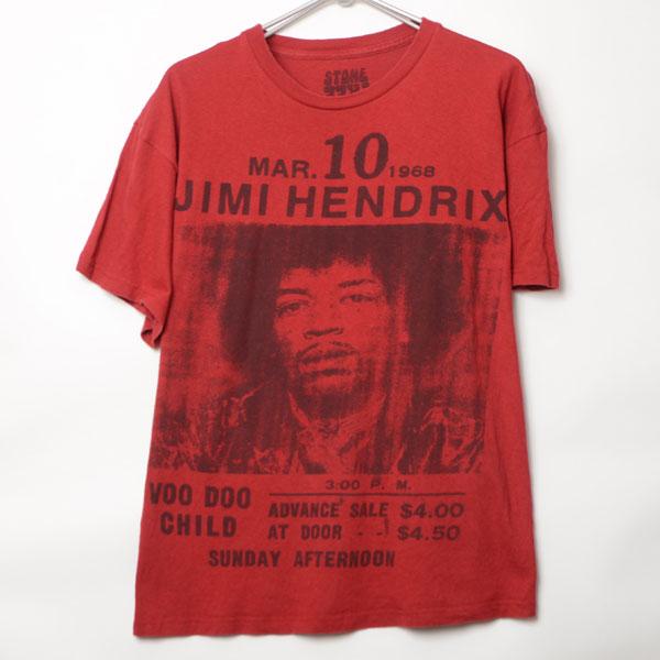 GS7247 ジミー・ヘンドリックス Tシャツ L 肩53 メール xq
