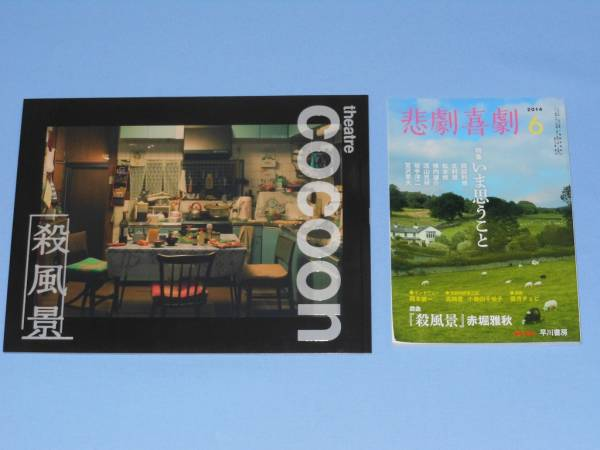 Hey!Say!JUMP ▲▽▲ 殺風景セット ▲▽▲ パンフレット + 悲劇喜劇  ▲▽▲ 八乙女光 コンサートグッズの画像