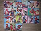 ◆◆激レア昭和駄菓子◆パチ物 特撮怪獣ミニカード21枚