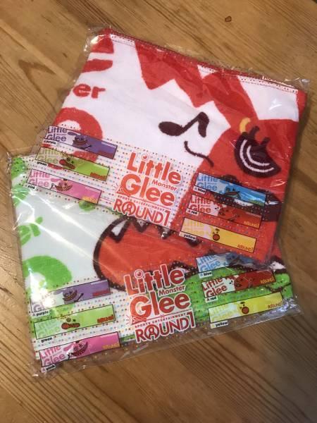 2枚セット MAYU 麻珠 【非売品】Little Glee Monster◆タオル 赤 緑 ◆新品未開封◆即決可 切手可