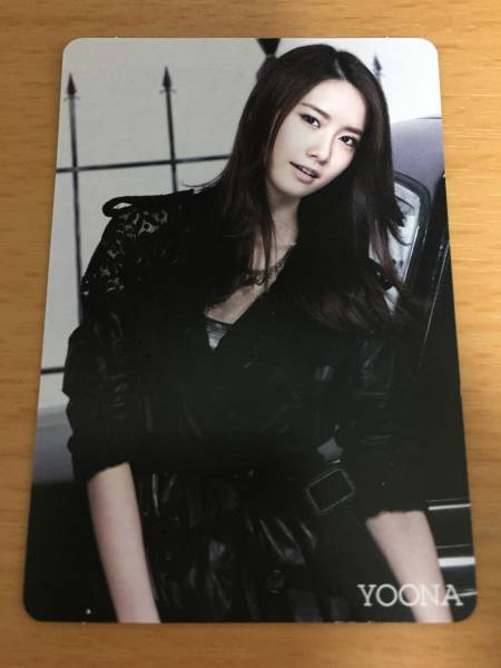 少女時代ユナ★RUN DEVIL RUN MR.TAXI★トレカ ライブグッズの画像