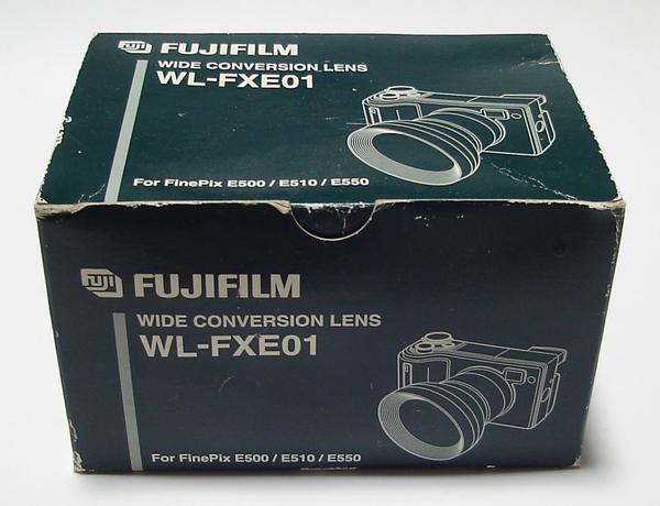 代引可 新品 富士フイルム FinePix FX-E500 FX-E510 FX-E550 ワイドコンバージョンレンズ WL-FXE01