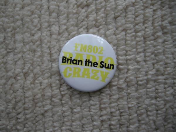 ☆Radio Crazy 2016 コラボ缶バッジ・Brian the Sun☆