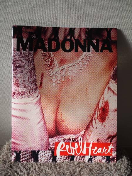 マドンナ Madonna レベルハート ツアー コンサート パンフレット ライブグッズの画像