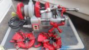 REX ネジ切り S50AⅢ 水道 設備 ガス パイプマシン レッキス