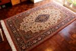 最高級 豪華 色彩豊かなペルシャ絨毯 ウール手織り キリム
