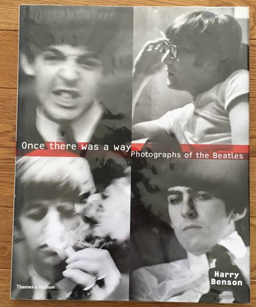 ★Once There Was a Way ザ・ビートルズ写真集 by ハリー・ベンソン輸入版 美品