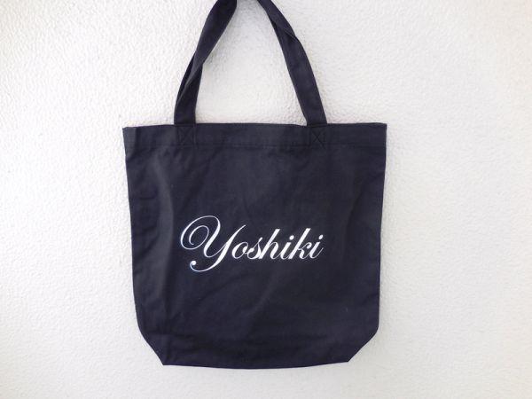 新品■ 非売品 貴重☆ X JAPAN YOSHIKI ディナーショー トートバッグ