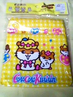 コロコロクリリン ランチボックスケース お弁当袋ランチ巾着02年 グッズの画像