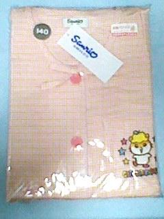 コロコロクリリン 長袖 パジャマ 140cm 未使用 2002年 刺繍 グッズの画像