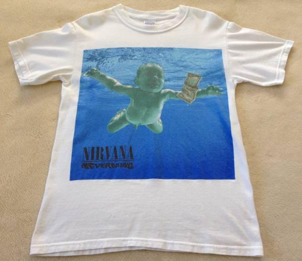 NIRVANA NEVERMIND Tシャツ ニルヴァーナ ネバーマインド カートコバーン Kurt Cobain