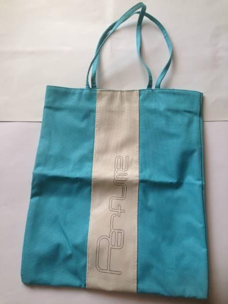 【100円値下げ】Perfume ポリリズム 非売品 トートバッグ(ブルー) パフューム エコバッグ