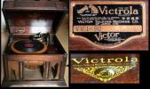 留声机w41 ビクター 蓄音機 ● Victrola レコード 手回し蓄音機 ジャンク