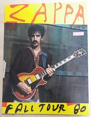 FRANK ZAPPA / FALL TOUR 80 パンフレット