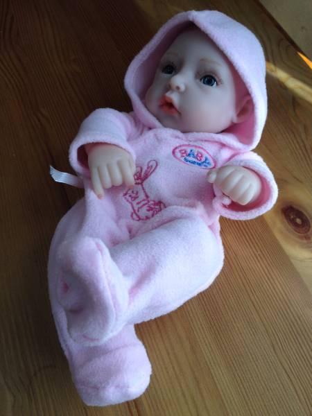 ☆☆ 送料無料 小さな 女の子 赤ちゃん ベビードール 抱き人形 ベビー人形 26cm 2