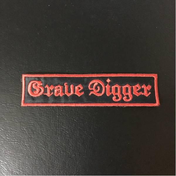【送料込み】grave digger 刺繍 パッチ ワッペン 未使用品 helloween
