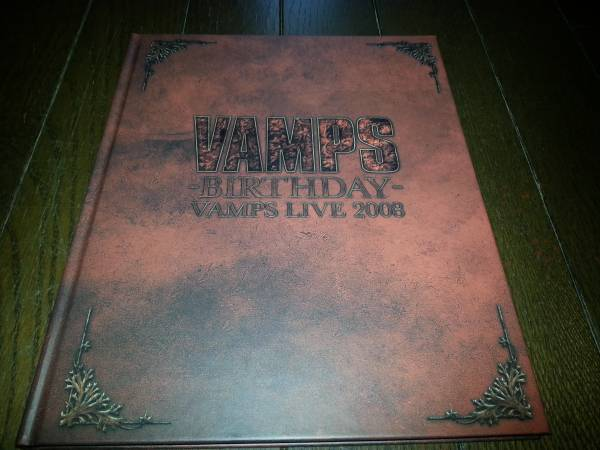 VAMPS BIRTHDAY LIVE 2008 パンフレット/ラルクhyde