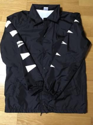 【新品】noshow コーチジャケット 黒 Msize (今回のみ限定出品)