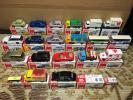 トミカ 20台 カプセルトミカ 2台 セット まとめて 箱付き 中古 エフコープ 光岡 ロールスロイス バス トラック インプレッサ レガシィ