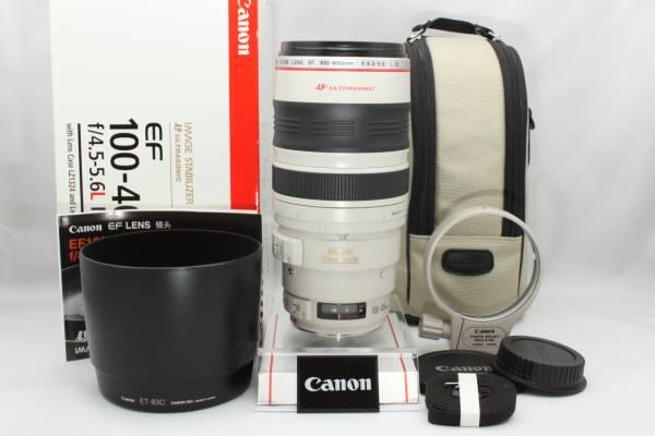 ★超美品★Canon キヤノン EF100-400mm F4.5-5.6L IS USM 付属品完備
