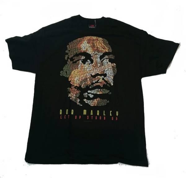 ★未使用品 ZION ROOTS WEAR レゲエ ラスタ  ボブマーリー Bob Marley Tシャツ サイズ:L ■1039