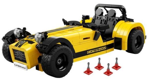 未開封 レゴ LEGO アイデア ケータハム セブン 620R 21307
