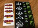 MAN WITH A MISSION × MONSTER ENERGY ステッカー AIRJAM2016ステッカーセット