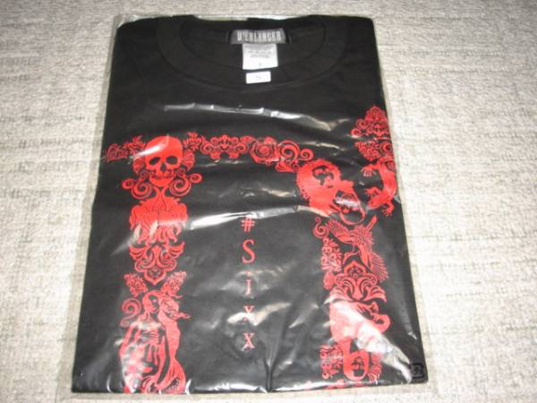 Tシャツ『D'ERLANGER(デランジェ) #Sixx』