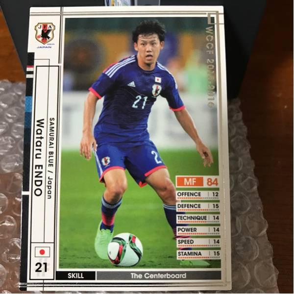 ◆WCCF 15-16 ワタル・エンドウ 日本代表 センターボード 新品◆