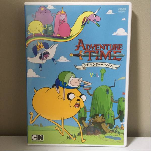 アドベンチャータイム シーズン1 Vol.1 DVD グッズの画像
