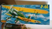 1/48:オーロラ製(1956年製)◆カーティス/ホークP-6E