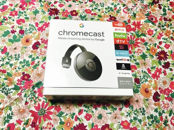 新品 グーグル 第2世代クロームキャスト chromecast Google 黒