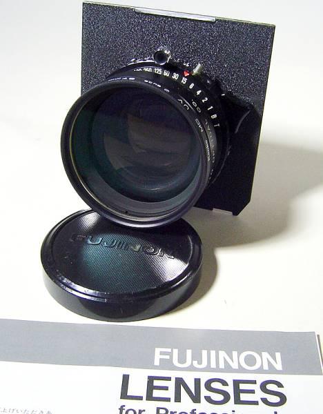 《美品》フジノン W210㎜ F5.6 ~ F64 UVフィルター付(67㎜)