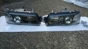 【希少】日産 R31 スカイライン 純正 プロジェクターヘッドライト(プロジェクターヘッドランプ) HR31 FJR31 GTS GTS-X GTS-R パサージュ