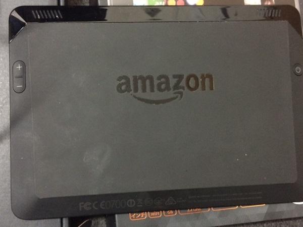 ★タブレット amazon kindle fire HDX 16GB 動作〇 初期化済 箱・充電器付き_画像3