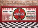 Coca Cola - 激レア!コカ コーラ メルズドライブイン メニューボード 木製看板 Since1960 新品 ヴィンテージ DINER
