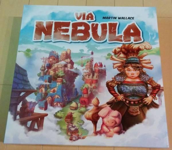 ■中古品《ボードゲーム》VIA NEBULA ヴィア ネビュラ 日本語訳付■