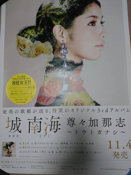 未使用☆城南海/尊々加那志~トウトガナシ 両面カレンダーポスター B2サイズ