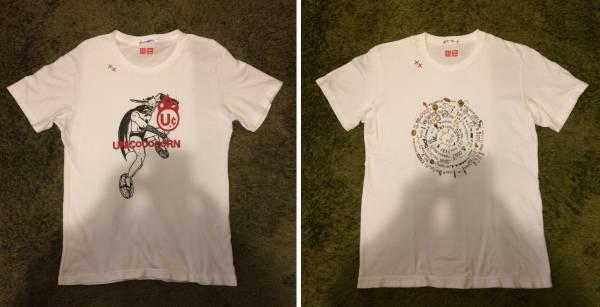 [UNIQLO] 2枚セット ユニコーンTシャツ UT白MユニクロUNICORN奥田民生