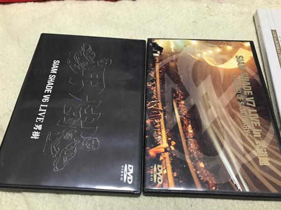 SIAMSHADE DVD V6~V9 4枚セット コンサートグッズの画像