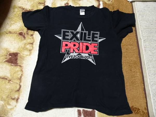 EXILE 三代目J Soul Brothers PRIDE プライド 2013 Tシャツ live ライブ グッズ 黒 black 安い