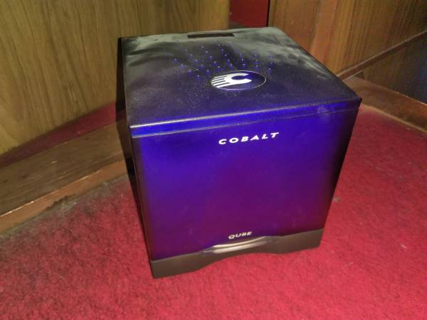 Cobalt Qube 2J マイクロサーバー コバルトキューブ Sun Cobalt サーバ・アプライアンス コバルト・ネットワークス Linux_画像1
