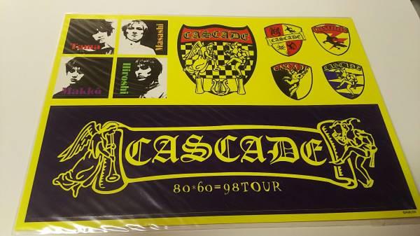 【CASCADE】80*60=98 ステッカー