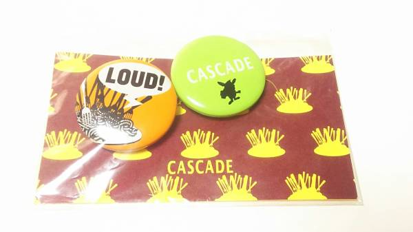 【CASCADE】ファミレーリストラン ピアザ 缶バッジ