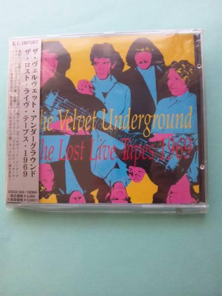 【送料112円】 CDI98 (直輸入盤:帯有り) / The Velvet Underground / The Lost Live Tapes 1969 / ヴェルヴェット・アンダーグラウンド_画像1