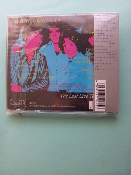 【送料112円】 CDI98 (直輸入盤:帯有り) / The Velvet Underground / The Lost Live Tapes 1969 / ヴェルヴェット・アンダーグラウンド_画像2