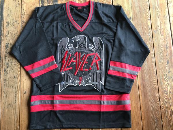 Slayer オフィシャルホッケージャージM 新品未使用 megadeth metallica anthrax ライブグッズの画像