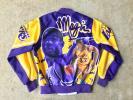 美品 90s USA製 Chalk Line マジックジョンソン転写 スタジャン S NBA LAKERS VINTAGE ビンテージ /NIKE JORDAN BULLS コーチジャケット
